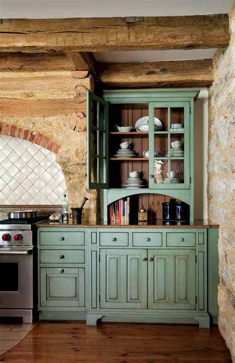 Primitive Colonial-Inspired Kitchen - Old-House Online