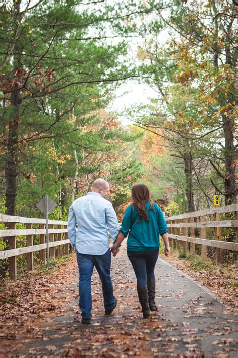Super Fun Outdoor Fall Engagement PhotosTruly Engaging