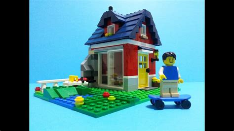 Lego Creator 31009 Small Cottage Build Review - YouTube