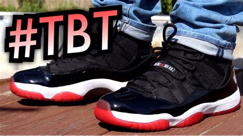"""""""Bred"""" Air Jordan 11 Campout Footage & On-Feet #TBT - YouTube"""