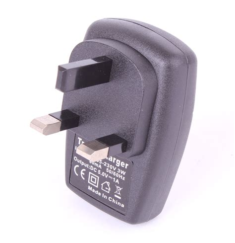 UK Wall Charger w/ Sync Cable for Vtech Kidizoom
