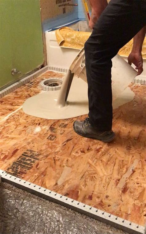 How to prep a wood subfloor for self leveling concrete