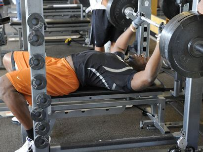 NFL Combine Secret # 1: Boost Your Bench Press   Play