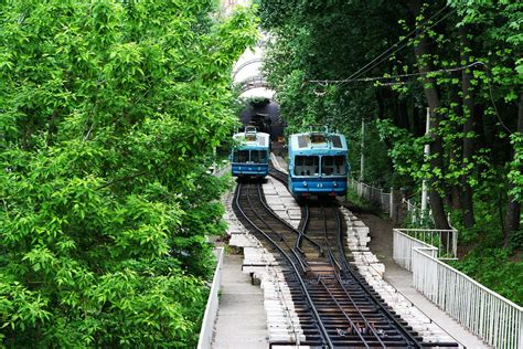 How to ride on the funicular in Kiev