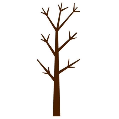 Forest Tree Wall Stencil for Painting Kids or Baby Room Mural