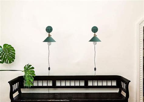 Vintage Macaron Green Wall Lamp With 5