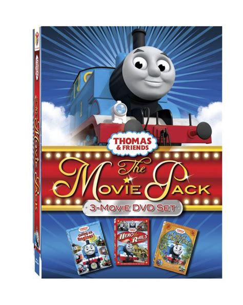 Thomas & Friends: Movie Pack 3-DVD Pack Review + Thomas