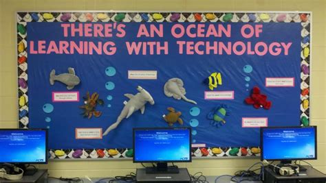 There's An Ocean Of Learning with Technology bulletin