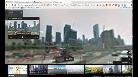 Google Maps: Using the Street View Time Machine - YouTube