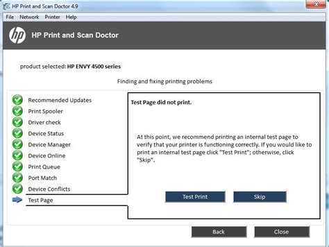 Solved: HP ENVY 4500 E-ALL-IN-ONE WON'T PRINT - HP Support