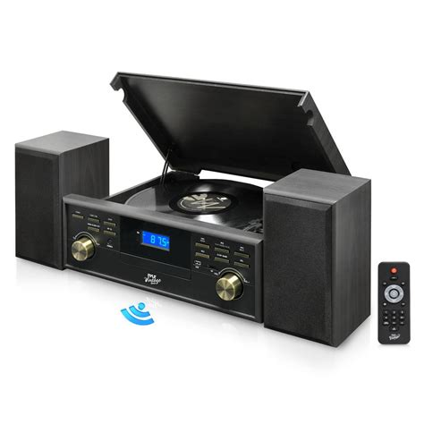 PyleHome - UPPTCM80BTGR - Home and Office - Turntables