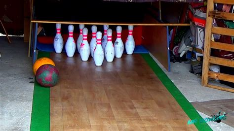Homemade Bowling Alley #4 (France) - 18/03/2015   Bowling