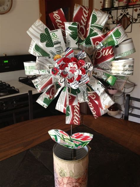 Recycled Beer Can Flower · A Bouquet · Other on Cut Out + Keep