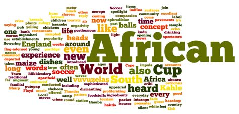 South African words in English – then and now (part 2