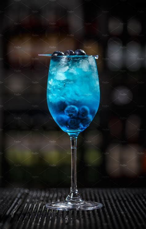 Blue lagoon cocktail   High-Quality Food Images ~ Creative