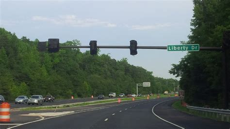 Fort Belvoir roadwork and gate construction near completion
