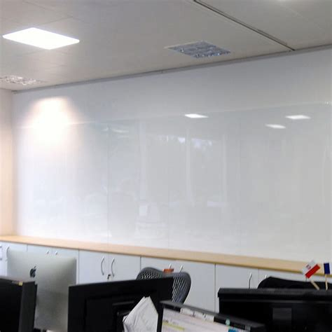 Frameless Magnetic Whiteboards - with Hidden Rear Wall Fixings