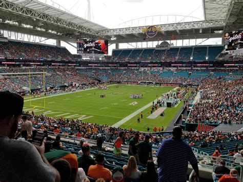 Section 229 at Hard Rock Stadium - Miami Dolphins