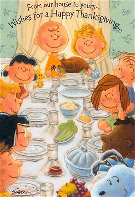 Harris Sisters GirlTalk: Happy Thanksgiving from the Peanuts