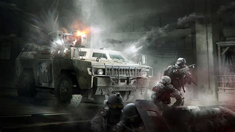 Tom Clancys The Division Concept Artwork Wallpapers | HD