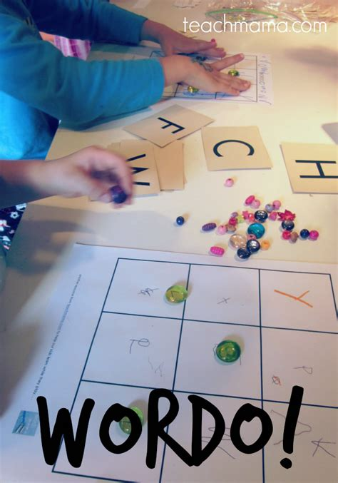 a game for practicing spelling, sight words, or letters